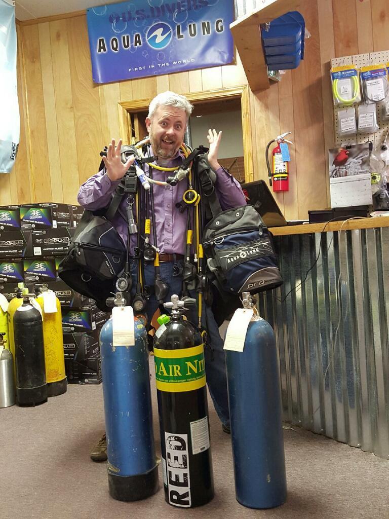 Repair, scuba repair